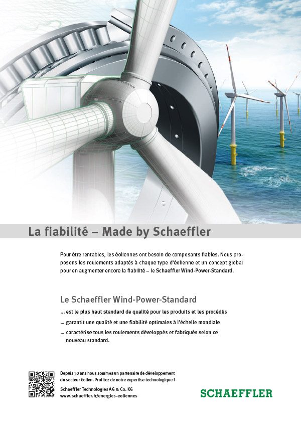 Le Schaeffler Wind-Power-Standard