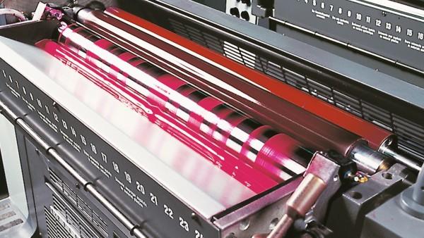 Solutions sectorielles Schaeffler pour les machines d'impression