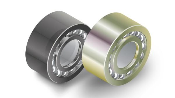 Les roulements avec revêtement sont protégés de la corrosion.