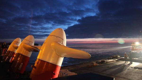 Schaeffler est un fournisseur privilégié de solutions de roulement pour l'exploitation de l'énergie marine partout dans le monde. Le groupe fournit, par exemple, les paliers des turbines.