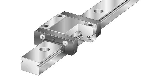 Guidages linéaires Schaeffler: Systèmes miniatures à recirculation à deux rangées de billes