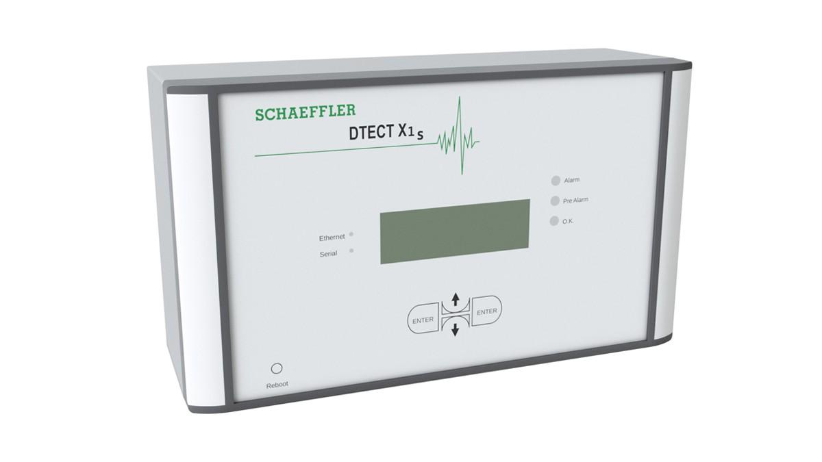 DTECT X1 s est un système en ligne flexible pour la surveillance des composants et des éléments rotatifs à l'intérieur des machines et des installations.