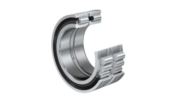 Roulements et paliers lisses Schaeffler: Roulements à rouleaux cylindriques jointifs avec rainures pour anneaux d'arrêt