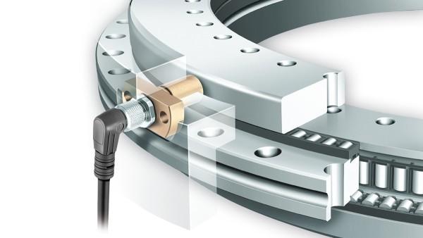 Roulements YRTCM/YRTSM avec système de mesure, avec électronique de mesure SRM pour une mesure d'angle incrémentielle et magnétorésistive