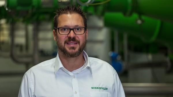 Thomas Schmitz, chef de service de la surveillance conditionnelle chez Schaeffler