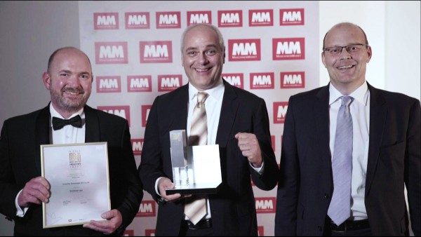Le roulement VarioSense Schaeffler remporte le prix du « Best of Industry-Award »
