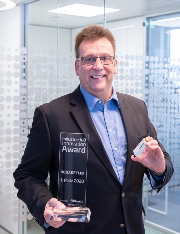 Schaeffler OPTIME remporte le prix Industry 4.0 Innovation Award
