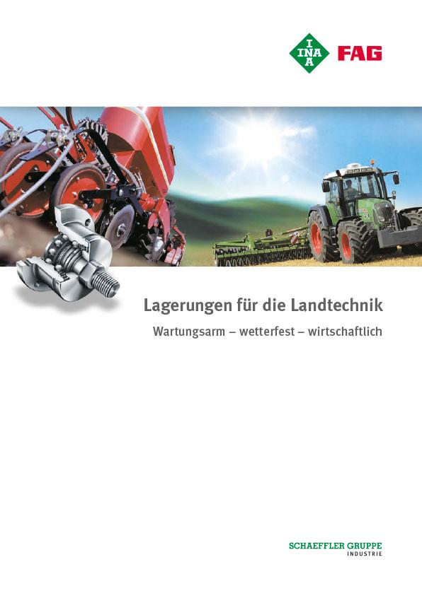 Lagerungen für die Landtechnik