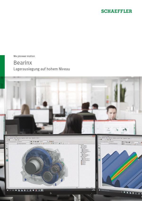Bearinx® Lagerauslegung auf hohem Niveau