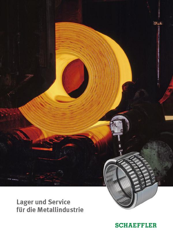 Lagerlösungen und Service für die Metallindustrie