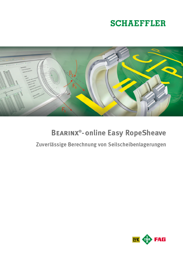 BEARINX®-online Easy RopeSheave