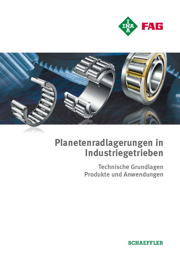 Planetenradlagerungen in Industriegetrieben