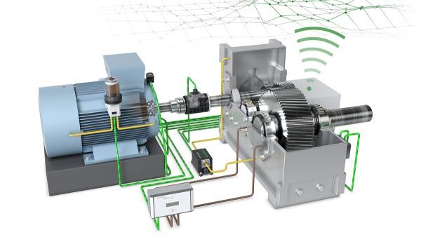 Le démonstrateur technologique «Chaîne cinématique 4.0» de Schaeffler présente les solutions pour la production numérique et la surveillance des machines.