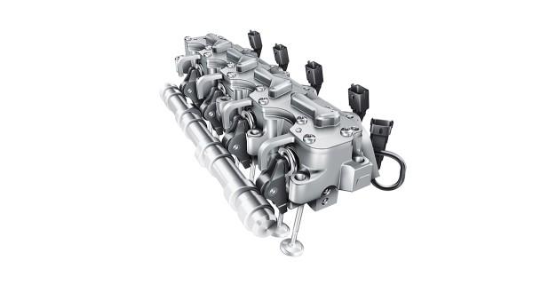 Système de commande de soupapes entièrement variable électrohydraulique UniAir