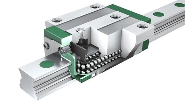Guidages linéaires avec système à recirculation de billes KUVE en qualité X-life