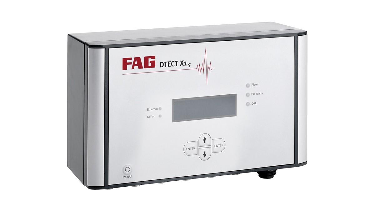 FAG DTECT X1 s est un système en ligne flexible pour la surveillance des composants et des éléments rotatifs à l'intérieur des machines et des installations.