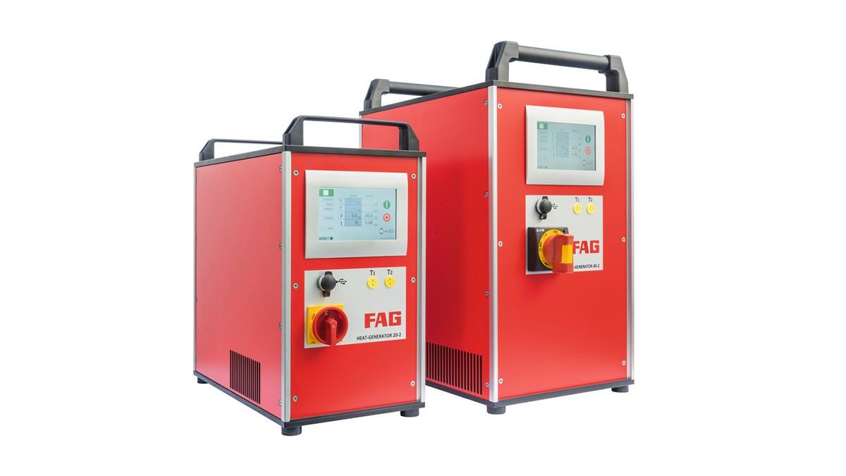 Produits de maintenance Schaeffler: Bobines à induction à technologie des moyennes fréquences